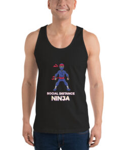 Social Distance Ninja Classic tank top (unisex)