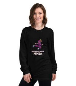 Girl Ninja Long sleeve t-shirt