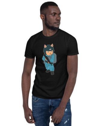 Army Cat Short-Sleeve Unisex T-Shirt