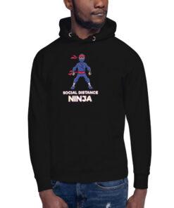 Social Distance Ninja Unisex Hoodie